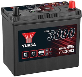 Аккумулятор Yuasa YBX3053, 12 В, 45 Ач, 400 а