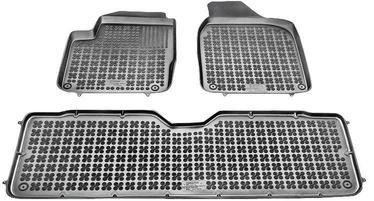 Gumijas automašīnas paklājs REZAW-PLAST Seat Alhambra 5 Seats 1995-2010, 3 gab.