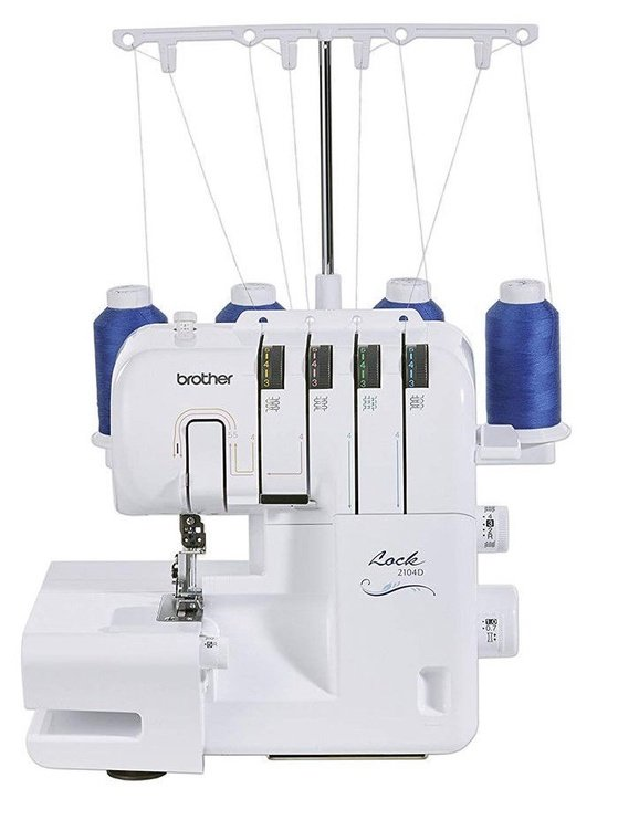 Brother 2104D Sewing Machine White