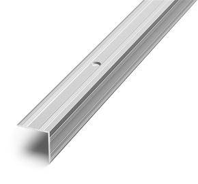 Laiptų kampas D5, sidabro, 270 x 2 x 2 cm
