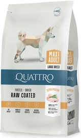 Quattro Maxi Adult Dog Food With Poultry 12kg