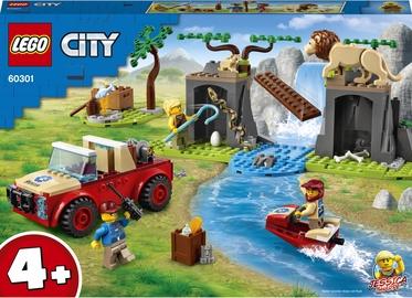 Конструктор LEGO City Wildlife Rescue Off Roader 60301, 157 шт.