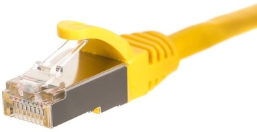 Netrack CAT 5e FTP/STP Patch Cable Yellow 2m