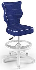 Детский стул Entelo Petit HC+F Size 3 VS06, синий/белый, 300 мм x 895 мм