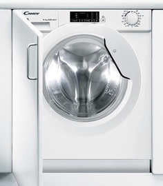 Įmontuojama skalbimo mašina Candy CBWD 8514D-S