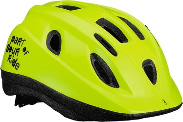 BBB Cycling Boogy Helmet BHE-37 Glossy Neon Yellow S