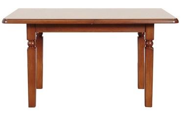 Black Red White Natalia Table 140cm Cherry Wood