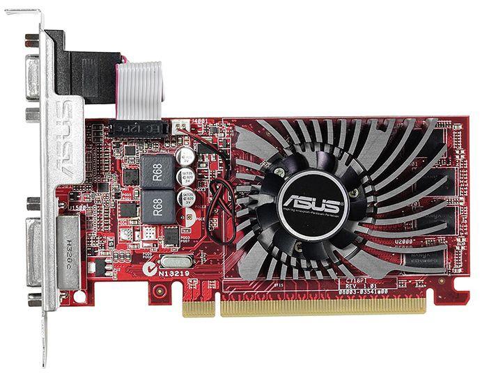 Asus AMD/ATI Radeon R7 240 2GB GDDR3 PCIE R7240-2GD3-L