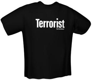 GamersWear Terrorist T-Shirt Black XL
