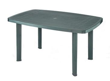 Ovalus lauko stalas Faro, žalias