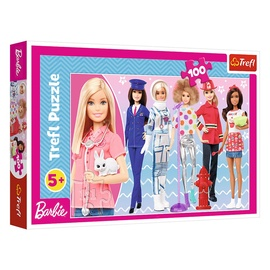 Пазл Trefl Barbie 16385, 100 шт.