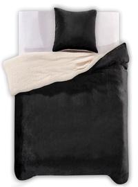 Gultas veļas komplekts DecoKing, melna, 155x220