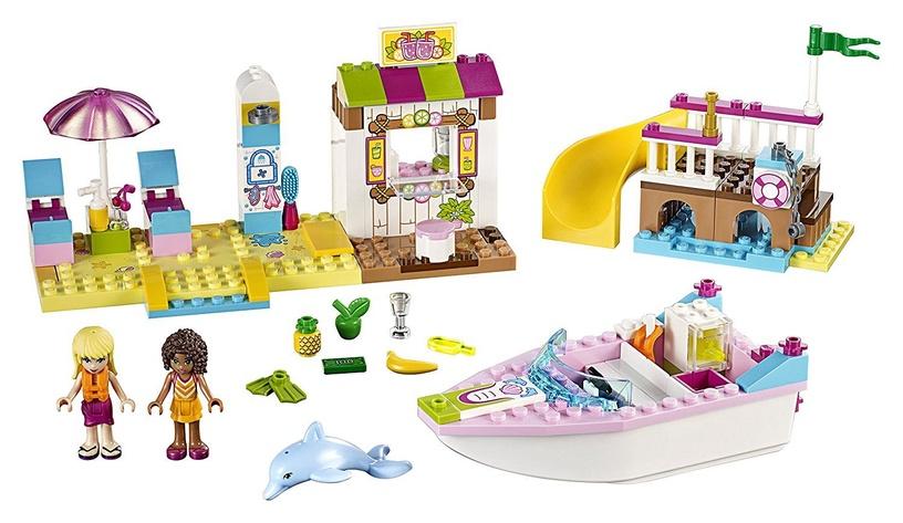 Конструктор LEGO Juniors Andrea & Stephanies Beach Holiday 10747 10747, 143 шт.