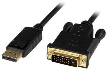 StarTech DisplayPort To DVI Active Adapter 1.8m Black