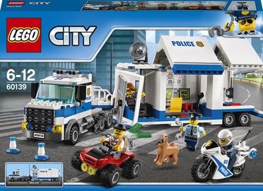 Конструктор LEGO City Мобильный командный центр 60139, 374 шт.