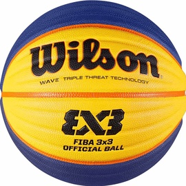 Wilson FIBA 3x3 Official Game Ball Yellow/Blue