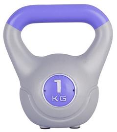 inSPORTline Dumbbell Vin-Bell Purple 1kg