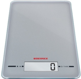 Soehnle Electronic Kitchen Scales Page Evolution Silver
