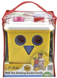 K's Kids Owl The Stacking Bucket Family KA10498