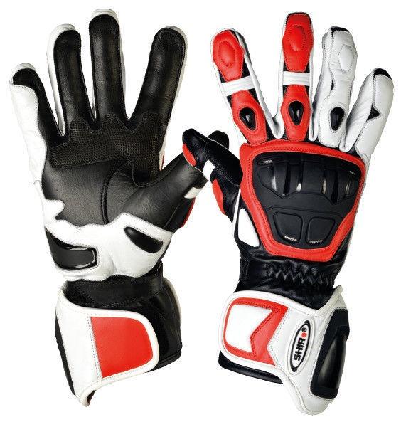 Shiro Racing GP Gloves SH-07 White Black Red M