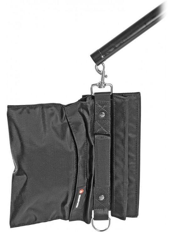 Manfrotto Combi-Boom Stand Aluminium With Sandbag 420B Black