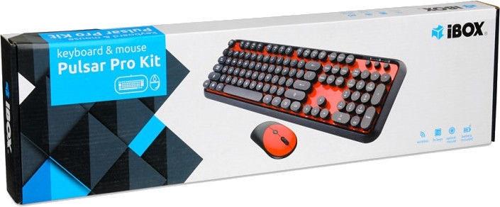 iBOX Pulsar Pro Kit Black/Red
