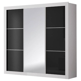 Idzczak Meble Wardrobe Roma White/Black