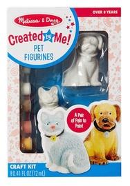 Melissa & Doug Created By Me Pet Figurines Set