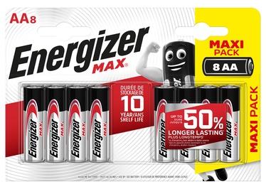 ENERGIZER MAX AA B8 1.5V ALK.BATERIJAS