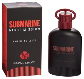Tualetes ūdens Real Time Submarine Night Mission 100ml EDT