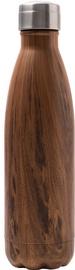 Yoko Design Isothermal Bottle 0.5l Wood Brown