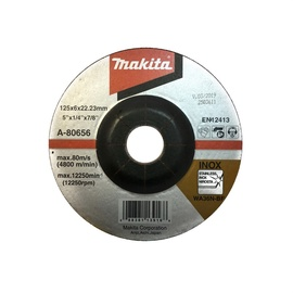 Šllifavimo diskas Makita A-80656, 125x6x22.23 mm
