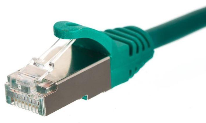 Netrack CAT 5e FTP/STP Cable Green 0.5m