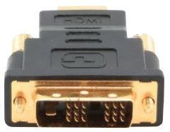 Gembird Adapter HDMI to DVI-D Black