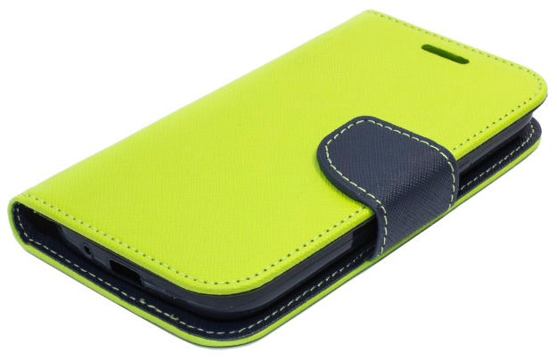 Telone Fancy Diary Bookstand Case Huawei Honor 7 Light Green/Blue
