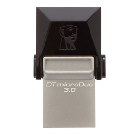 USB atmintinė Kingston MicroDuo DTDUO3, USB 3.0, 32 GB