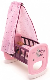 Smoby Baby Nurse Baby Cradle Pink
