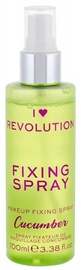 Makeup Revolution London I Heart Revolution Fixing Spray 100ml Cucumber
