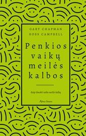 Knyga Penkios vaikų meilės kalbos (naujas)