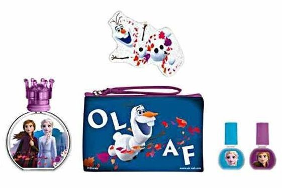 Набор для детей Disney Frozen II 50 ml EDT + 2 x 5 ml + Cosmetic Bag + Nail File