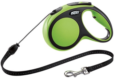 Flexi New Comfort Cord S 5m Green