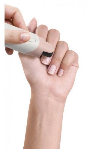 Homedics Time To Shine MAN-600 Electric Nail Polisher Light Gray