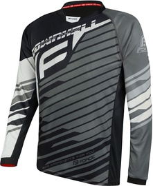 Force Downhill Jersey Black/White/Grey S
