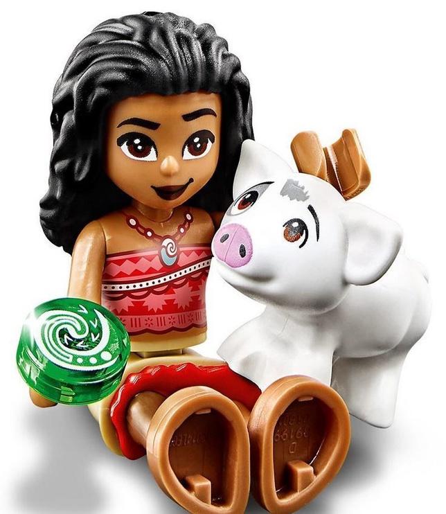 Конструктор LEGO Disney Princess Moana's Ocean Adventure 43170 43170, 46 шт.