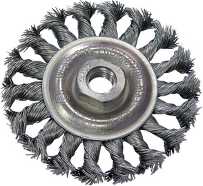 Proline Twist Knot Wire Wheel Brush 125mm