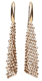Diamond Sky Earrings With Crystals From Swarowski Jennifer Golden Shadow