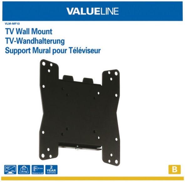 ValueLine VLM-MF10 Universal Wall Mount 26-42''