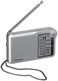 Kaasaskantav raadio Panasonic RF-P150DEG-S Portable Radio Silver