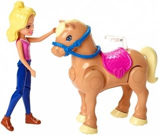Mattel Barbie On The Go Pony Race Playset FHV66
