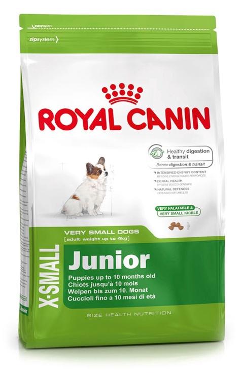 Suņu barība Royal Canin X-Small Junior 1,5kg